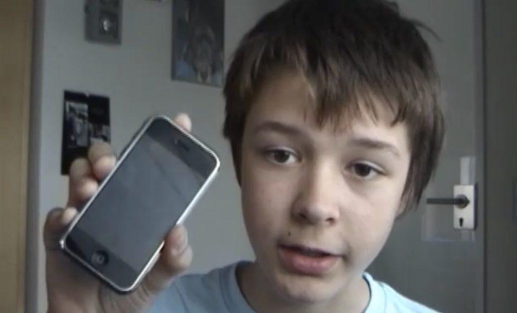 """2008: Erste Ausgabe des Podcasts """"Mein iPhone und Ich"""" (Philipp Riederle)"""