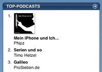 """Mein iPhone und Ich"" (Philipp Riederle) in den Podcast Charts"