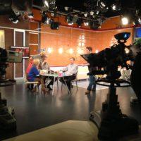 Philipp Riederle im Fernsehstudio